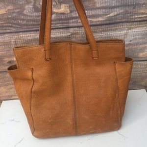 Duluth Trading Co. || Lifetime Leather Tote Bag